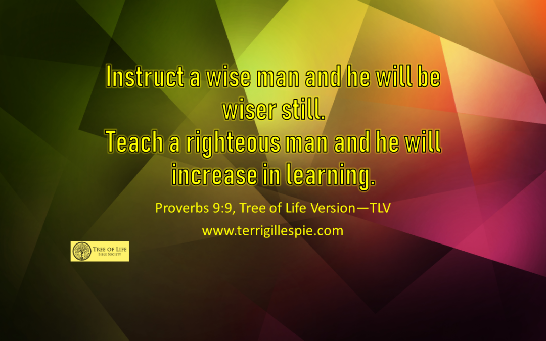 Wisdom's Journey: Proverbs 9:9