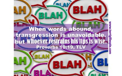 Wisdom's Journey: Proverbs 10:19
