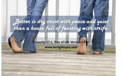 Wisdom's Journey: Proverbs 17:1