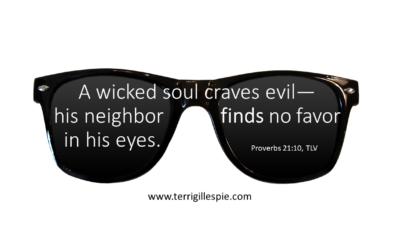 Wisdom's Journey: Proverbs 21:10