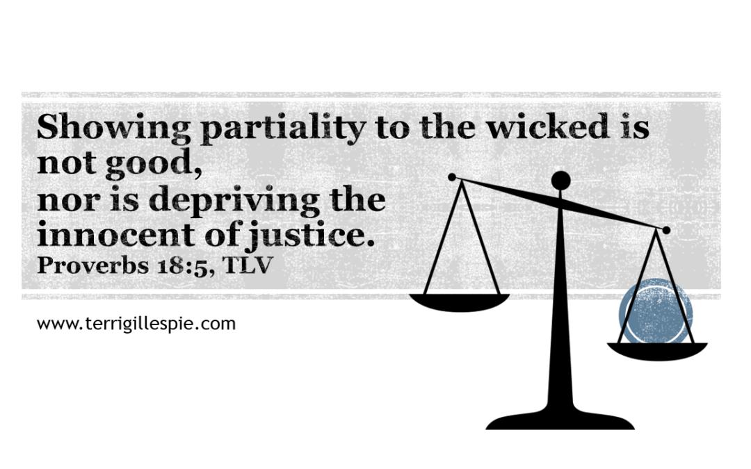 Wisdom's Journey: Proverbs 18:5