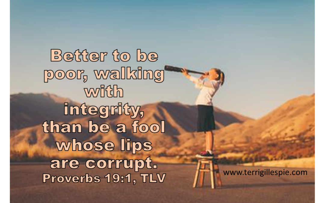 Wisdom's Journey: Proverbs 19:1