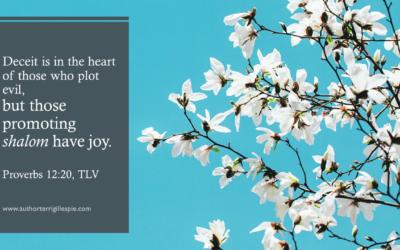 Wisdom's Journey: Proverbs 12:20
