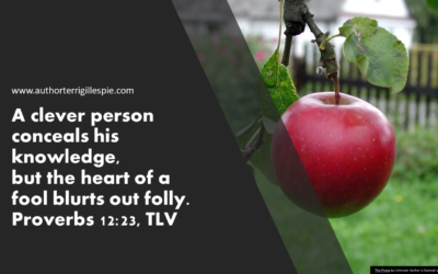 Wisdom's Journey: Proverbs 12:23