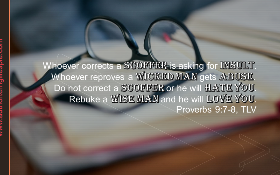 Wisdom's Journey: Proverbs 9:7-9