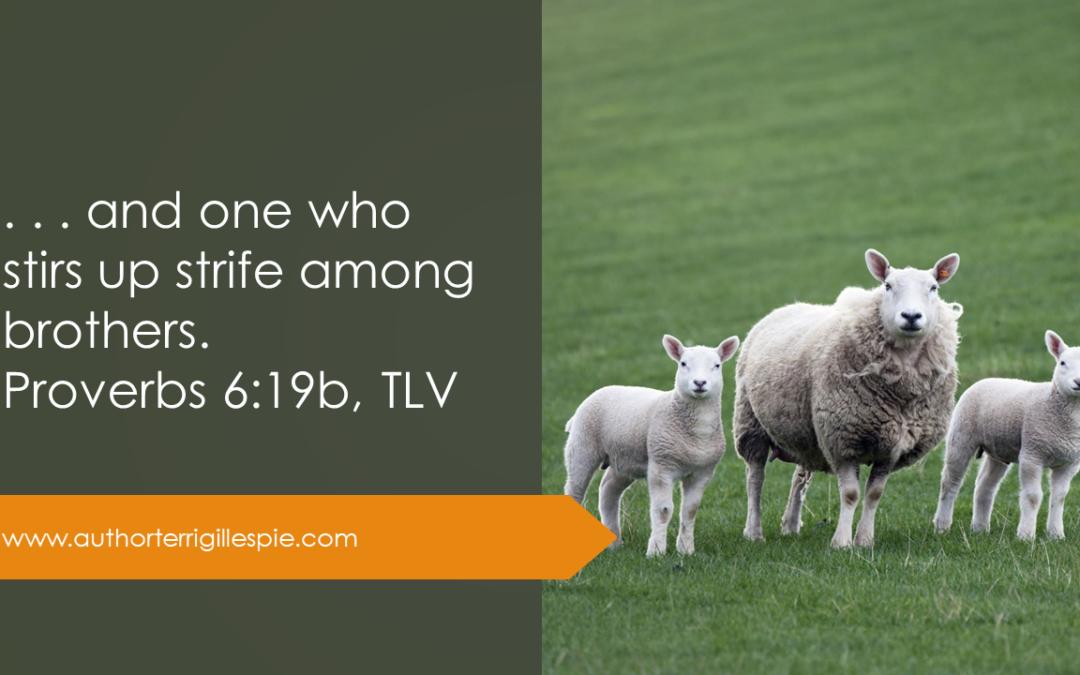 Wisdom's Journey: Proverbs 6:19b