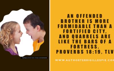 Wisdom's Journey: Proverbs 18:19