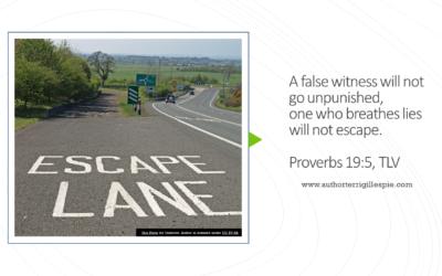 Wisdom's Journey: Proverbs 19:5