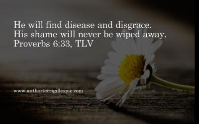 Wisdom's Journey: Proverbs 6:33