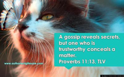 Wisdom's Journey: Proverbs 11:13