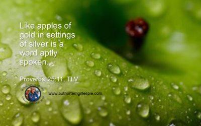 Wisdom's Journey: Proverbs 25:11