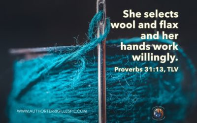 Wisdom's Journey: Proverbs 31:13