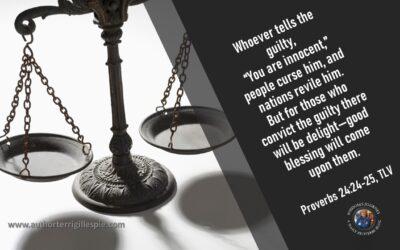 Wisdom's Journey: Proverbs 24:24-25