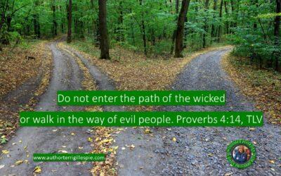Wisdom's Journey: Proverbs 4:14