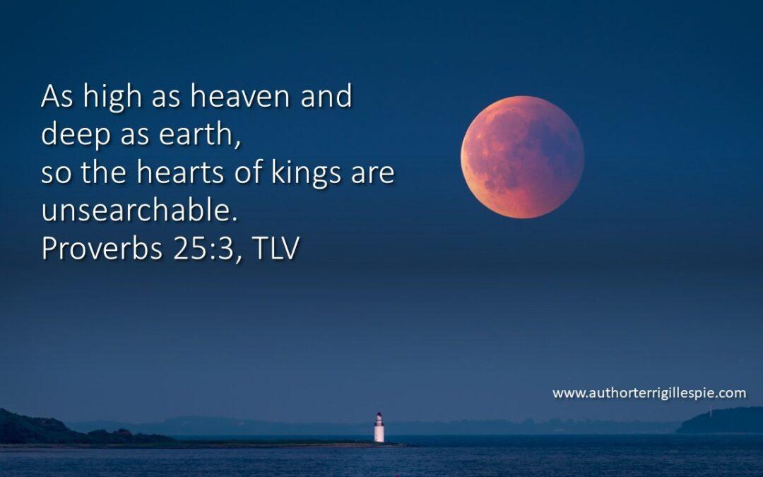 Wisdom's Journey: Proverbs 25:3