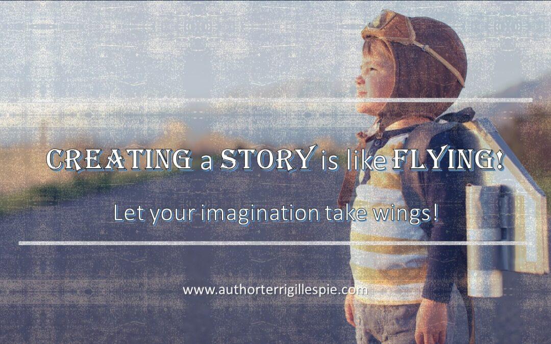 Book Journey Blog:  . . . it's like flying
