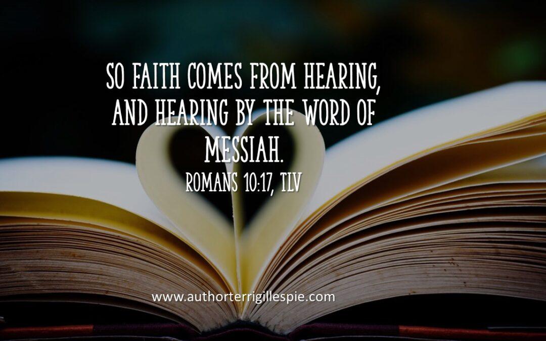 Daily Touch: How do others hear your faith?