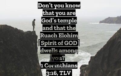 Daily Word: 1 Corinthians 3:16